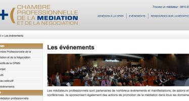 Nouveau site des médiateurs professionnels