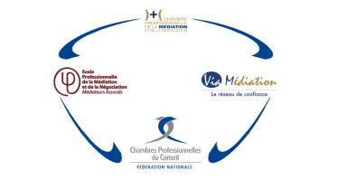 La médiation professionnelle et la fédération des chambres professionnelles du conseil partenaires