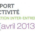 Rapport mediateur inter-entreprise 2013