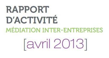 Le médiateur inter-entreprises Pierre Pelouzet remet son rapport à Arnaud Montebourg
