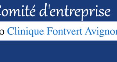 Convention avec le comité d'entreprise de la Clinique Fontvert