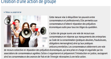 Action de groupe et médiation