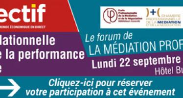Forum de la médiation professionnelle en Aquitaine