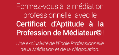 école professionnelle de la médiation et de la négociation