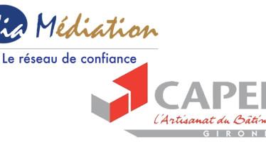 La CAPEB33 et les médiateurs professionnels bordelais