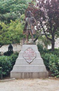 François-Jean Lefebvre de La Barre - victime de la dernière exécution officielle (1er juillet 1766) au nom d'une religion - le catholicisme - en France.