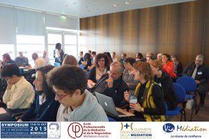 Atelier 2015 Symposium médiation