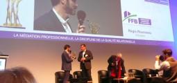 Symposium 2015 : FFB49 est primée d'un espoir de la médiation