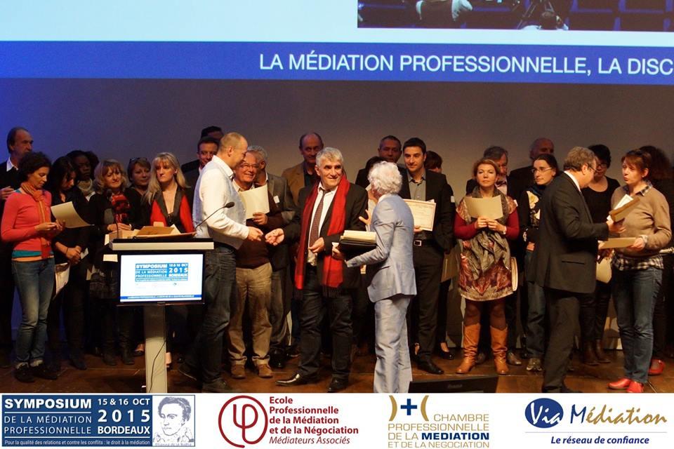 Via m diation symposium 2015 d dicaces des ouvrages de - Chambre professionnelle de la mediation et de la negociation ...