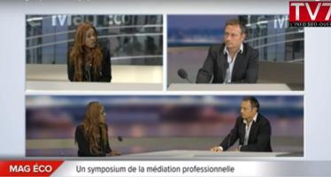 Présentation du symposium de la médiation 2015 sur TV7