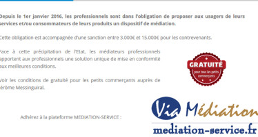 Consommation : les médiateurs professionnels outillés.