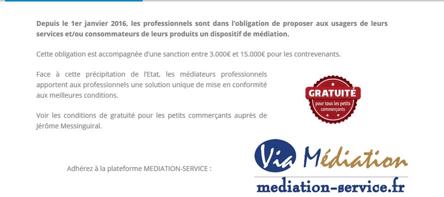 Via m diation consommation les m diateurs - Chambre professionnelle de la mediation et de la negociation ...