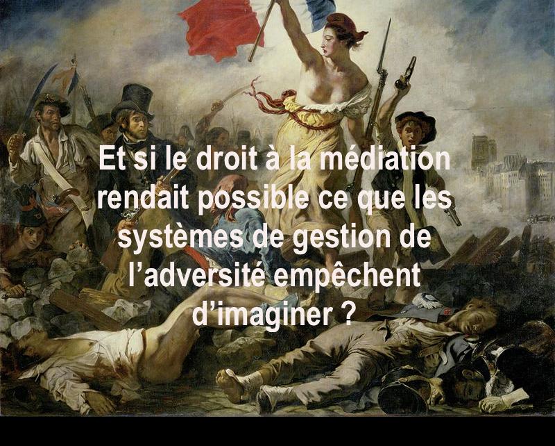 Via m diation la libert pourrait tre mieux garantie en - Chambre professionnelle de la mediation et de la negociation ...