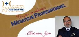 Un jour, un médiateur : Christian Zini