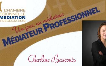 Un jour, un médiateur : Charline Basconès