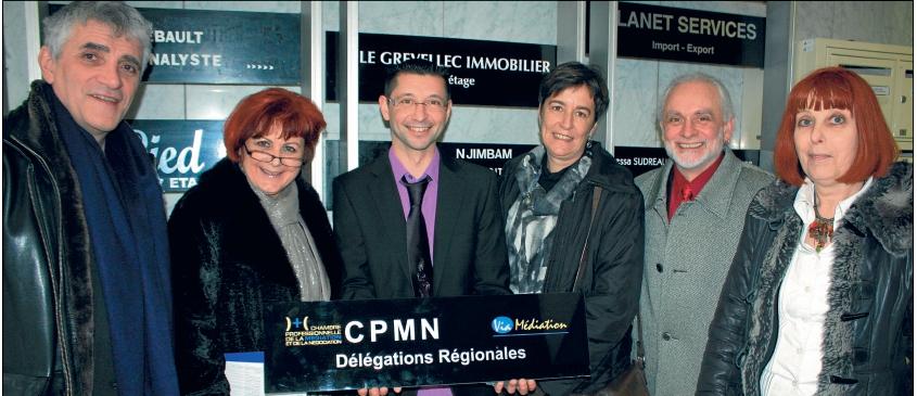 Jean-Louis Lascoux, Elisabeth Sarrato, Jérôme Messinguiral, Emmanuelle Puy-Roullet, Jésus Rubio et Ghislaine Trilhe