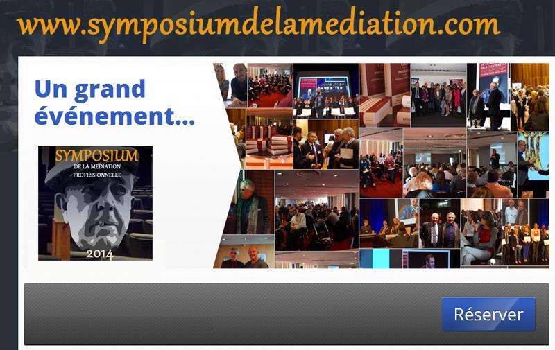Le symposium de la m diation professionnelle les 16 et 17 - Chambre professionnelle de la mediation et de la negociation ...