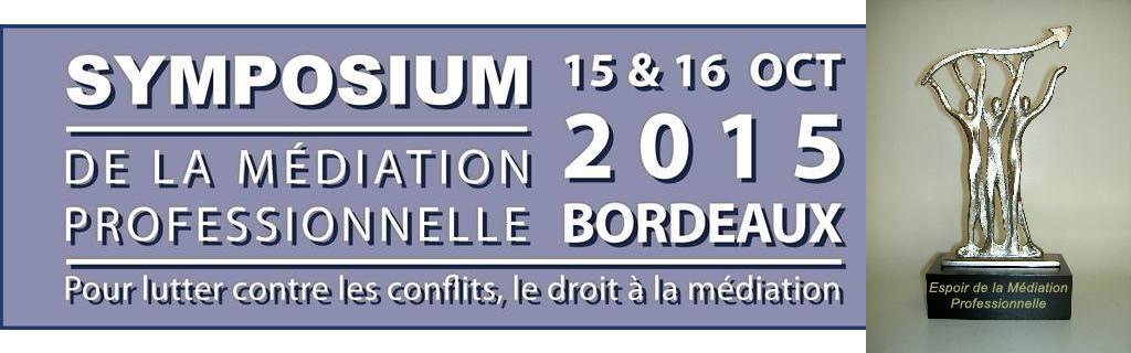 Espoir de la médiation Symposium de Bordeaux