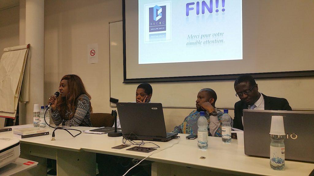 AIcha Sangaré présente la convention ViaMediation signée avec le club OHADA de Bordeaux